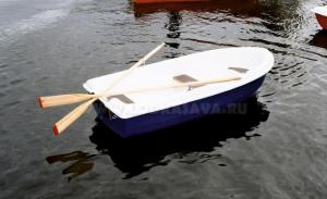 Бюджетная пластиковая лодка Sava 270