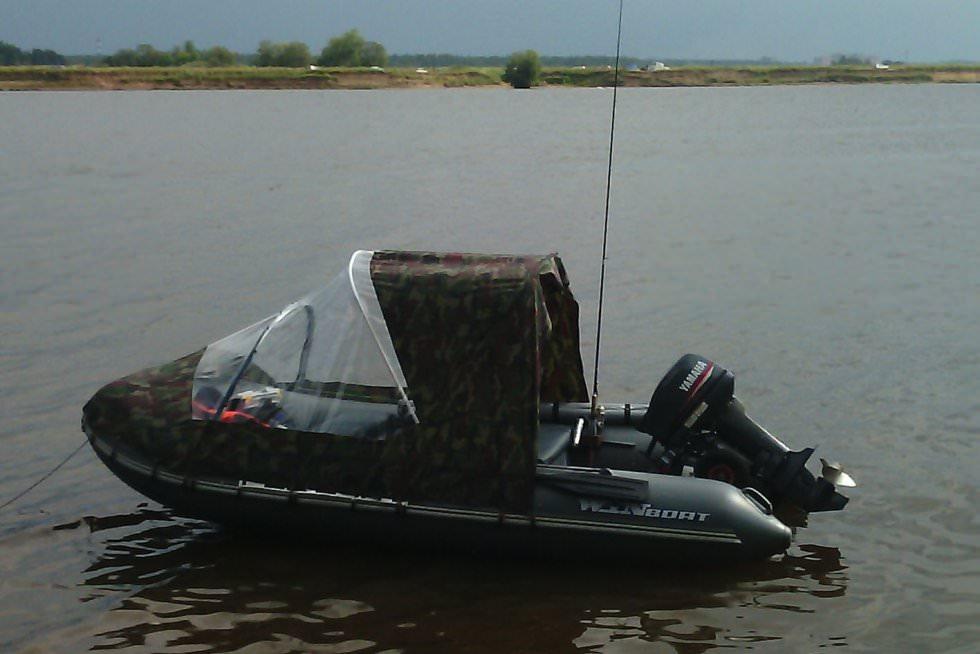 Тент для лодки ПВХ своими руками: материал, фурнитура 72