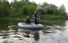 Обзор надувных двухместных лодок для рыбалки и их цены