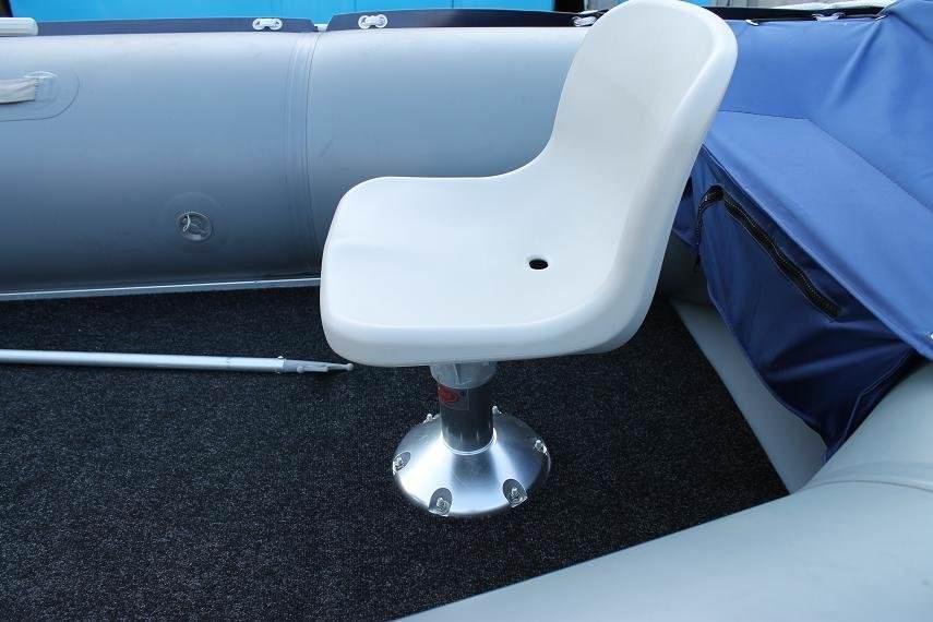 кресло поворотное для надувных лодок пеликан