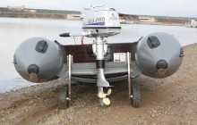 Транцевые колеса для ПВХ лодки