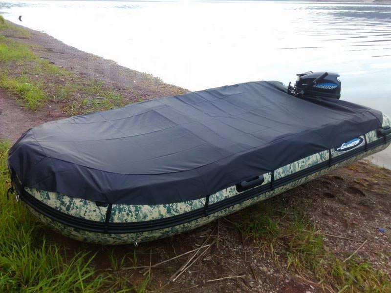 Тент для лодки ПВХ своими руками: материал, фурнитура 1
