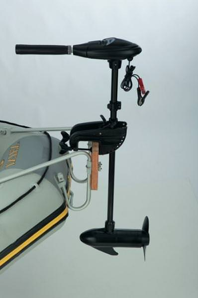 электромотор на надувную лодку фото