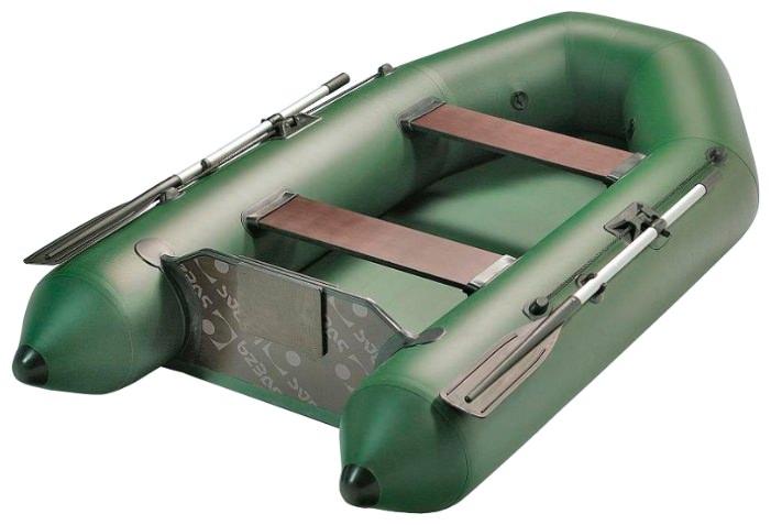 Моторная надувная двухместная лодка Аква 2600
