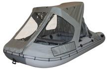 Обзор ходовых тентов для лодки ПВХ