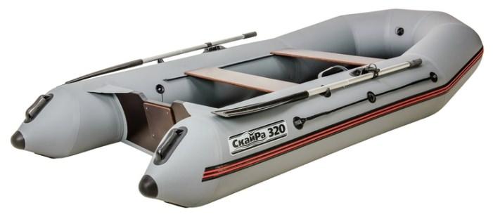 Двухместная надувная моторная лодка Наши Лодки 320