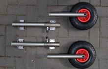 Транцевые колеса для лодки ПВХ