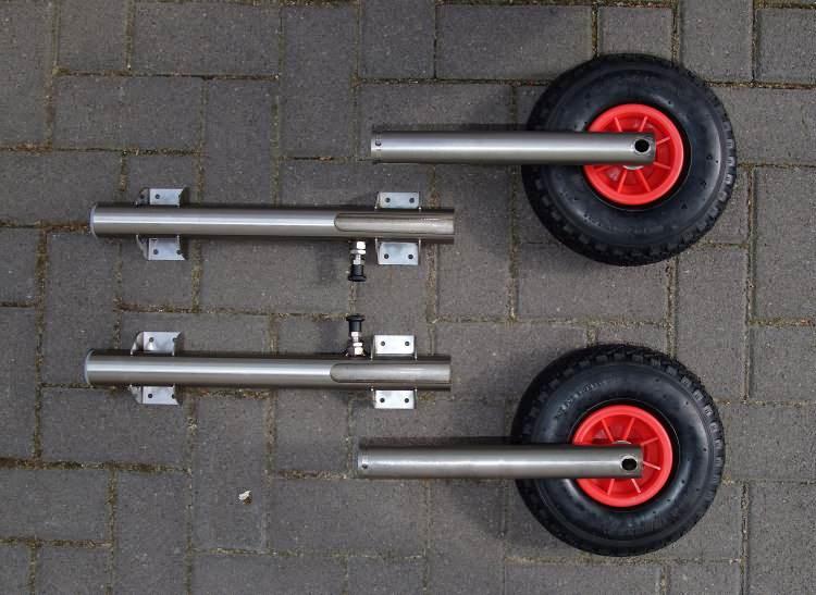 стойки для транцевых колес