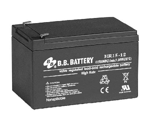 BB Battery HR 15-12