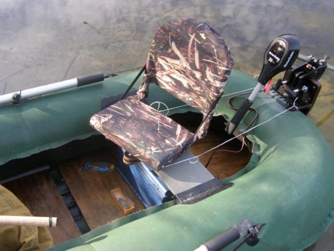 Поворотное кресло для надувной ПВХ лодки