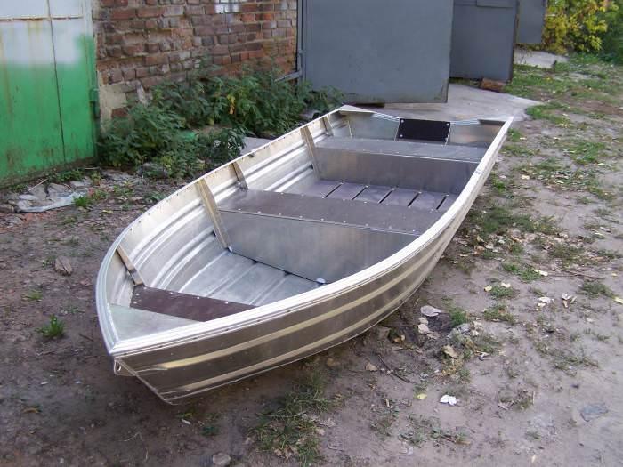 Алюминиевая лодка Казанка-5