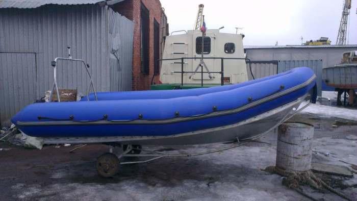 Лодка РИБ с алюминиевым дном