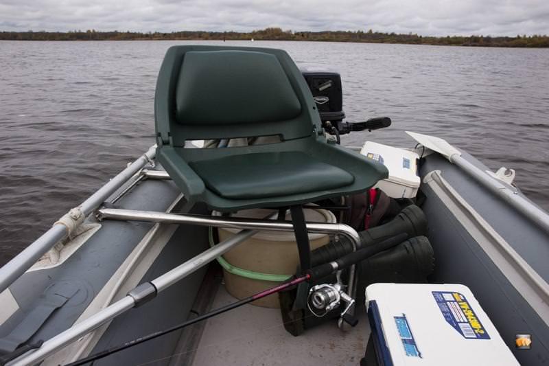 Поворотное кресло для ПВХ лодки