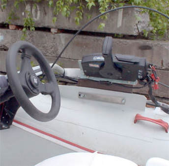 Трос для дистанционного управления лодкой