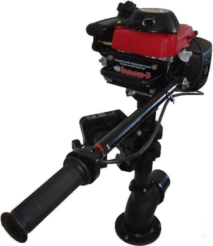 Подвесной водометный лодочный мотор Кальмар