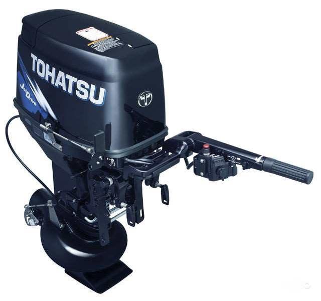 Подвесной водометный лодочный мотор Тохатсу