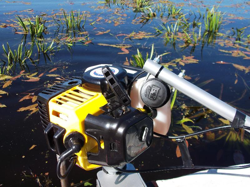 Подвесной водометный лодочный мотор Сталкер